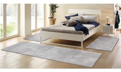 Hochflor - Bettumrandung »Magong« my home, Höhe 32 mm (3 - tlg.) kaufen