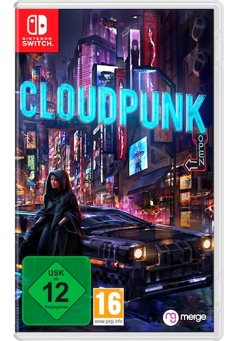 Nintendo Switch Spiel »Cloudpunk«, Nintendo Switch kaufen