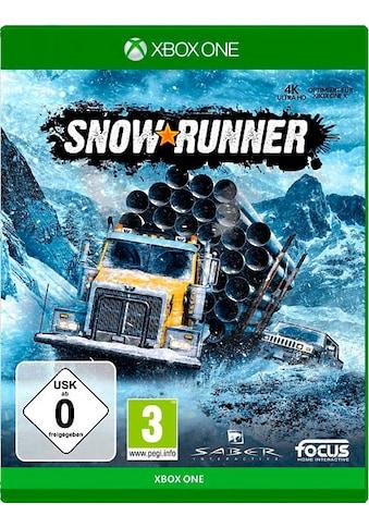 Focus Spiel »SnowRunner: Standard Edition«, Xbox One kaufen