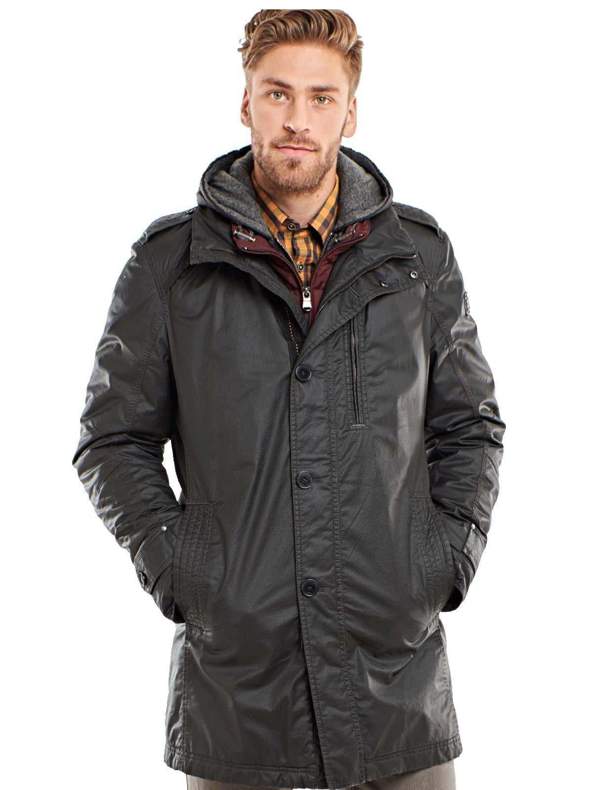 engbers Mantel mit hochwertiger Beschichtung   Bekleidung > Mäntel > Sonstige Mäntel   Grau   Baumwolle   Engbers