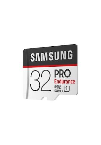 Samsung PRO Endurance microSD Karte (+SD Adapter) »Anwendung Überwachungstechnik« kaufen
