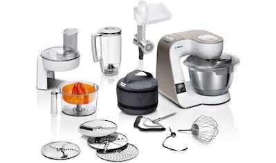 BOSCH Küchenmaschine MUM5XW40 scale mit integrierter Waage, 1000 Watt, Schüssel 3,9 Liter kaufen