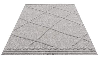 Carpet City Teppich »SANTORINI 58578«, rechteckig, 5 mm Höhe, 3D-Optik: Flor erzeugt... kaufen