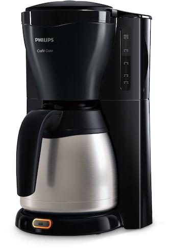 Philips Filterkaffeemaschine »Gaia Therm Timer HD7549/20«, Papierfilter, 1x4, mit doppelwandiger Isolierkanne aus Edelstahl kaufen