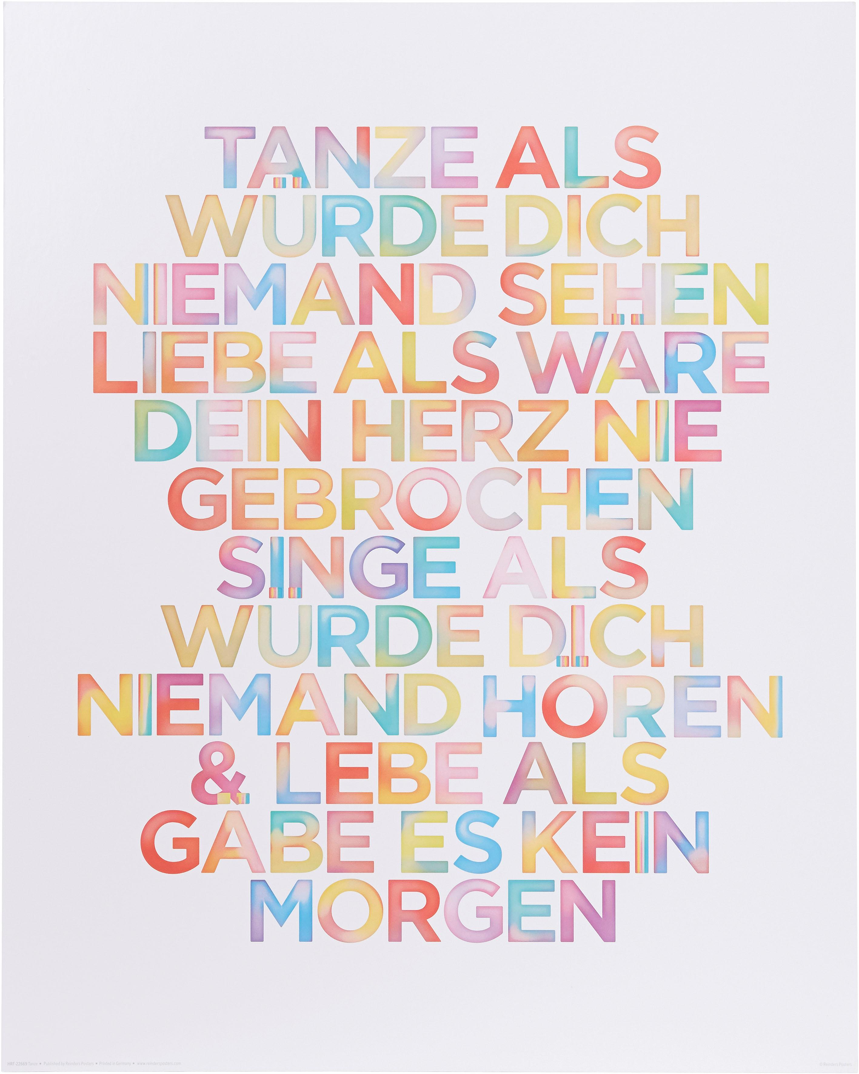 Home affaire Bild »Tanze?«