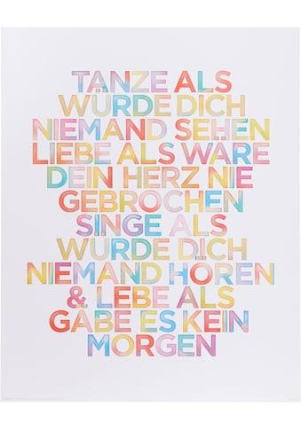 Home affaire Bild »Tanze…« kaufen