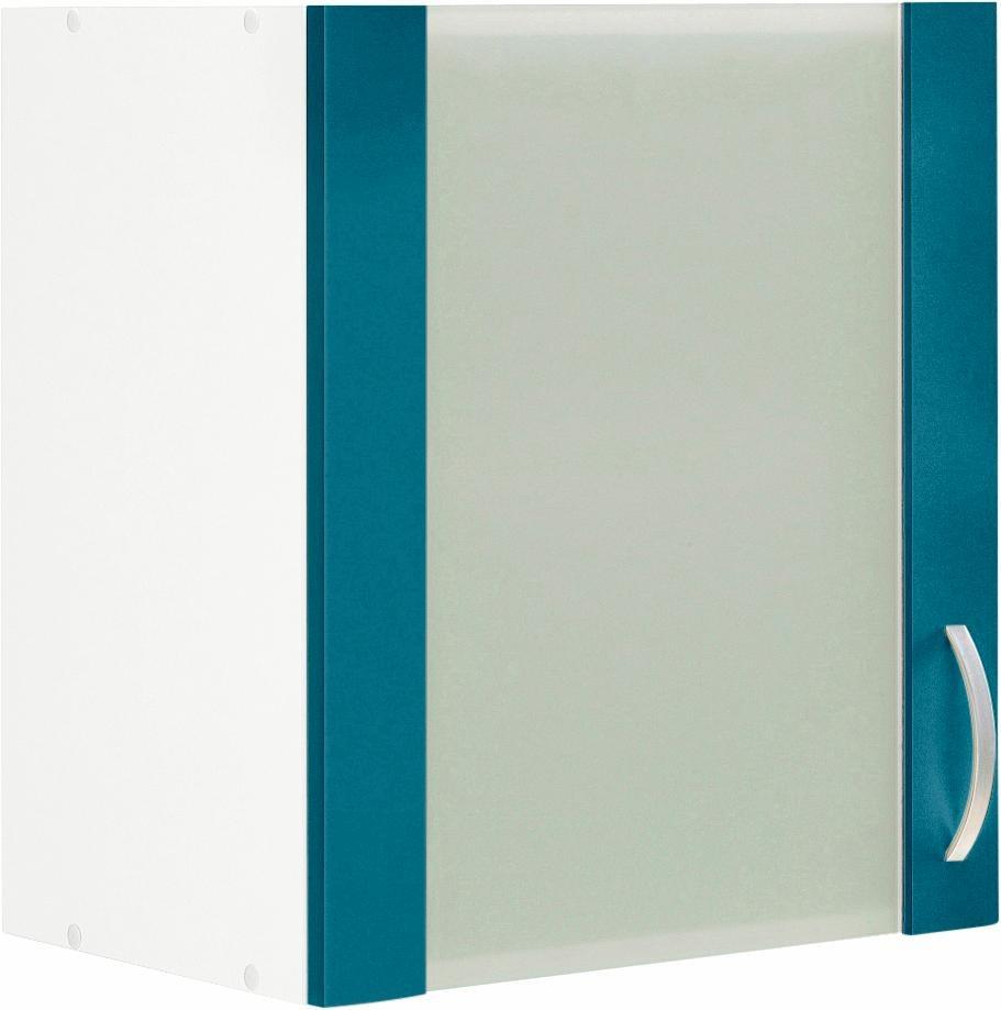 Glashänger »Flexi«, Breite 50 cm   Wohnzimmer > Schränke > Hängeschränke   Blau