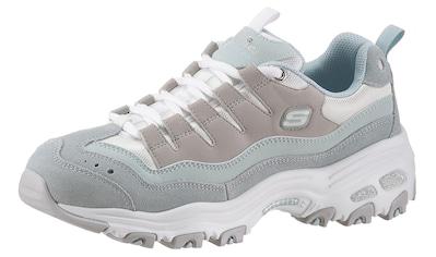 Skechers Sneaker »D´Lites - Sure Thing«, mit hochgezogener Zehenkappe kaufen