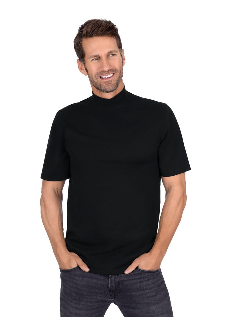12a591001c Bildquelle: Trigema T-Shirt mit Stehkragen