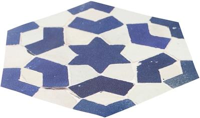 MYSPOTTI Duscheinlage »Klebefliese stepon Enrico, Hexagon«, antirutsch, BxH: 30 x 30 cm kaufen