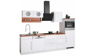 HELD MÖBEL Küchenzeile »Keitum«, mit E-Geräten, Breite 280 cm kaufen