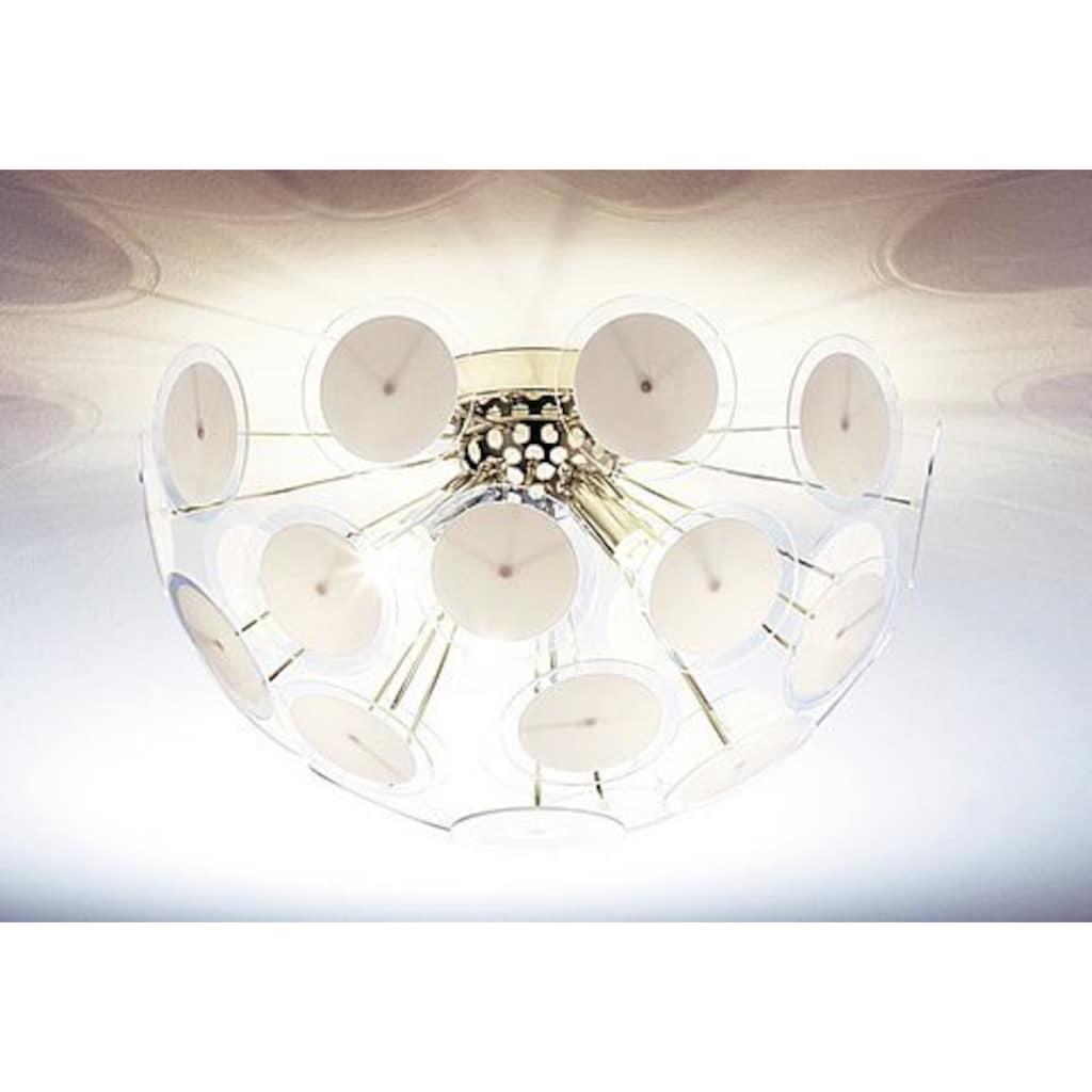TRIO Leuchten Deckenleuchte, E14, mit runden Kunstsoffscheiben