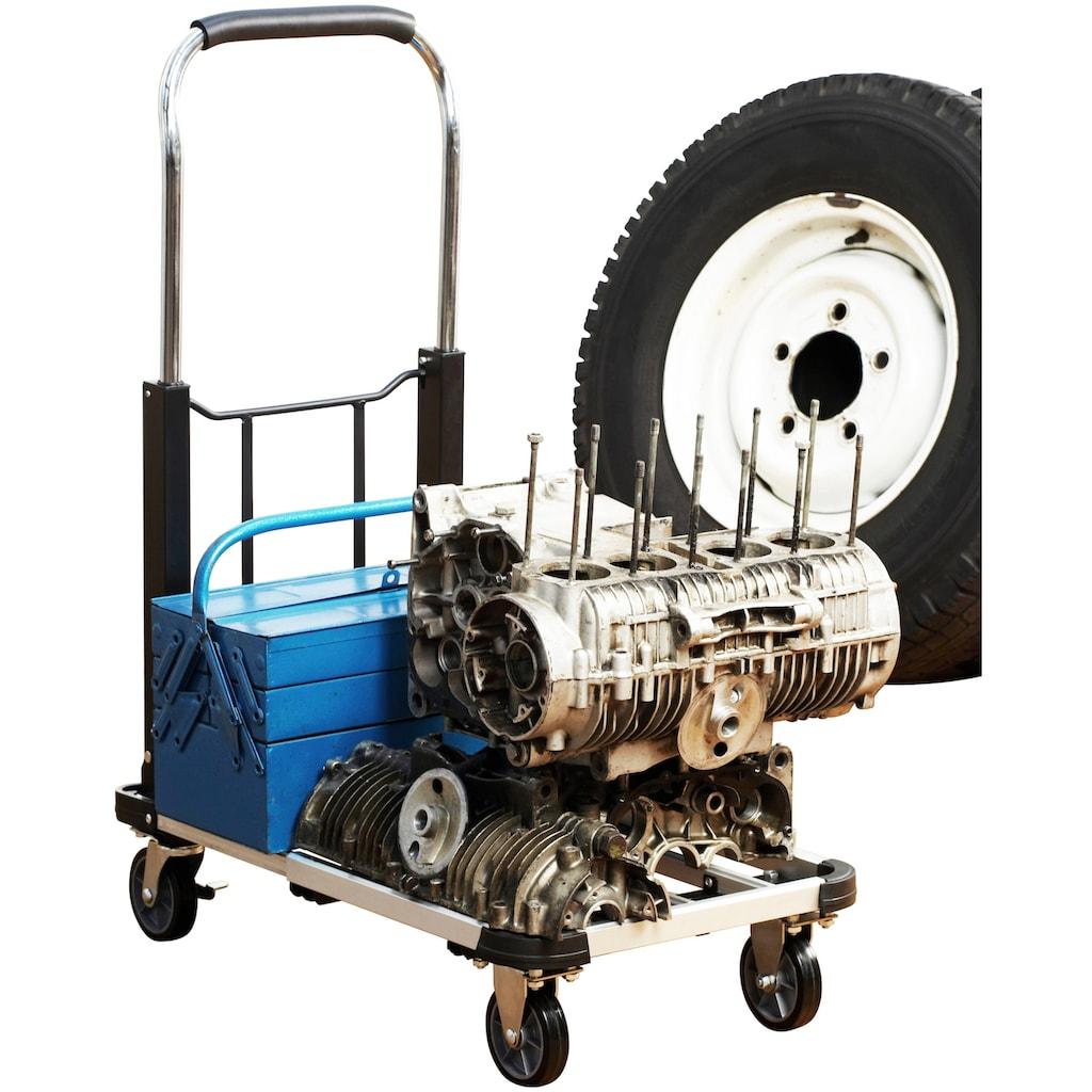 meister Transportwagen, bis zu 150 kg Tragkraft, klappbar