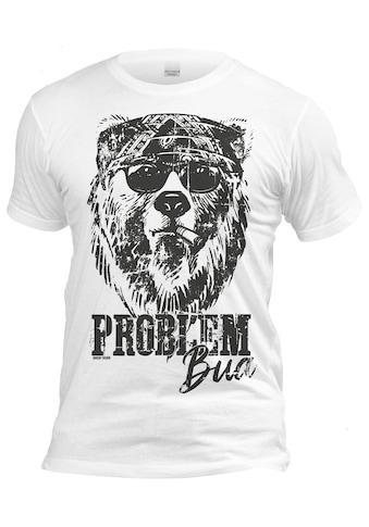 Der Trachtler T - Shirt mit Print kaufen