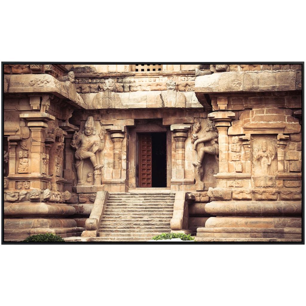 Papermoon Infrarotheizung »Gangaikonda Cholapuram Tempel«, sehr angenehme Strahlungswärme