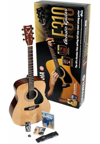Yamaha Westerngitarre »Dreadnought Westerngitarrenset«, 4/4 kaufen
