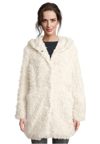 Amber & June Fellimitatjacke, lässig geschnitten, aus Fake-Fur kaufen