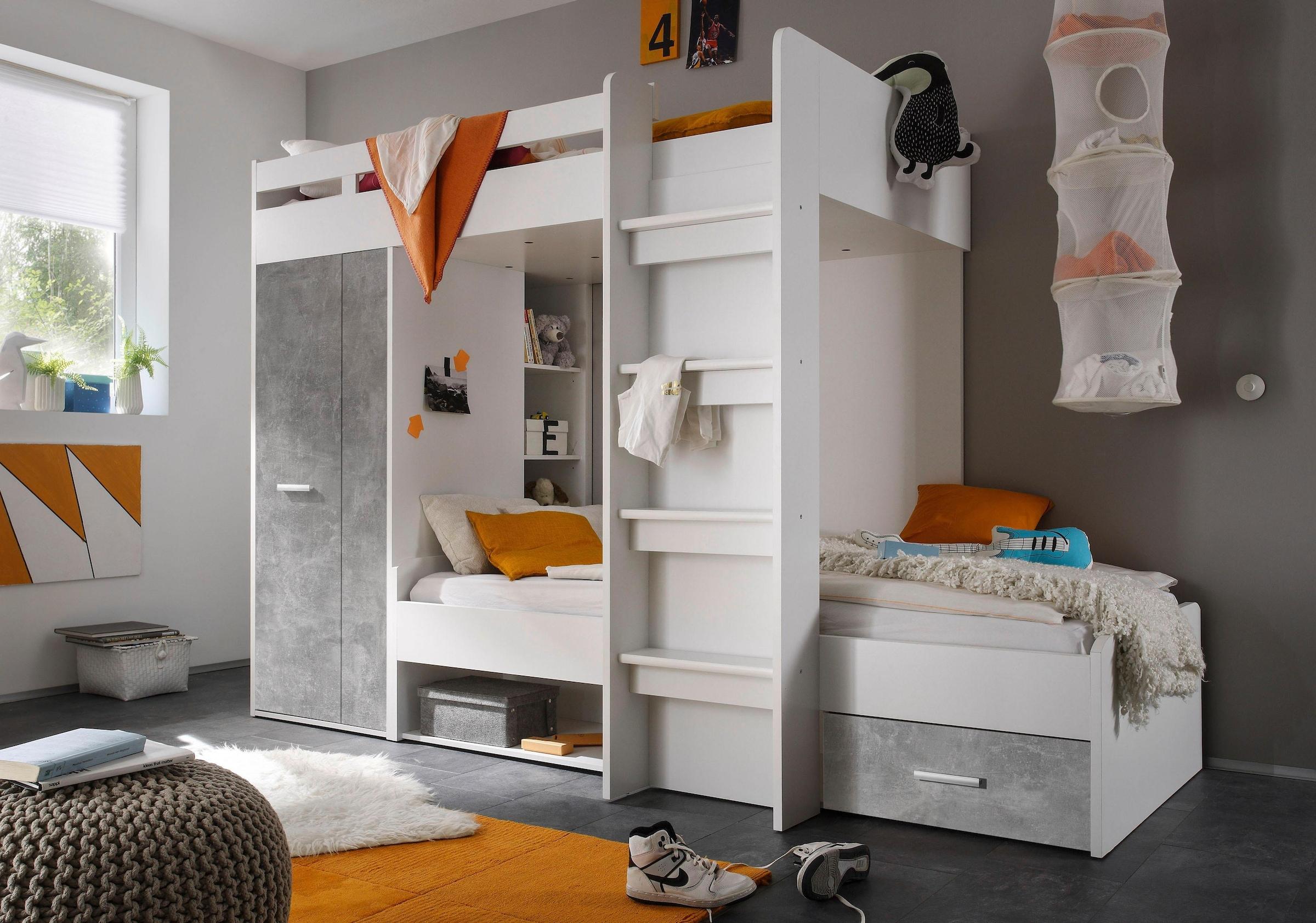 Dreier Etagenbett Kaufen : Hochbett zwei personen top etagenbett best of wei mit