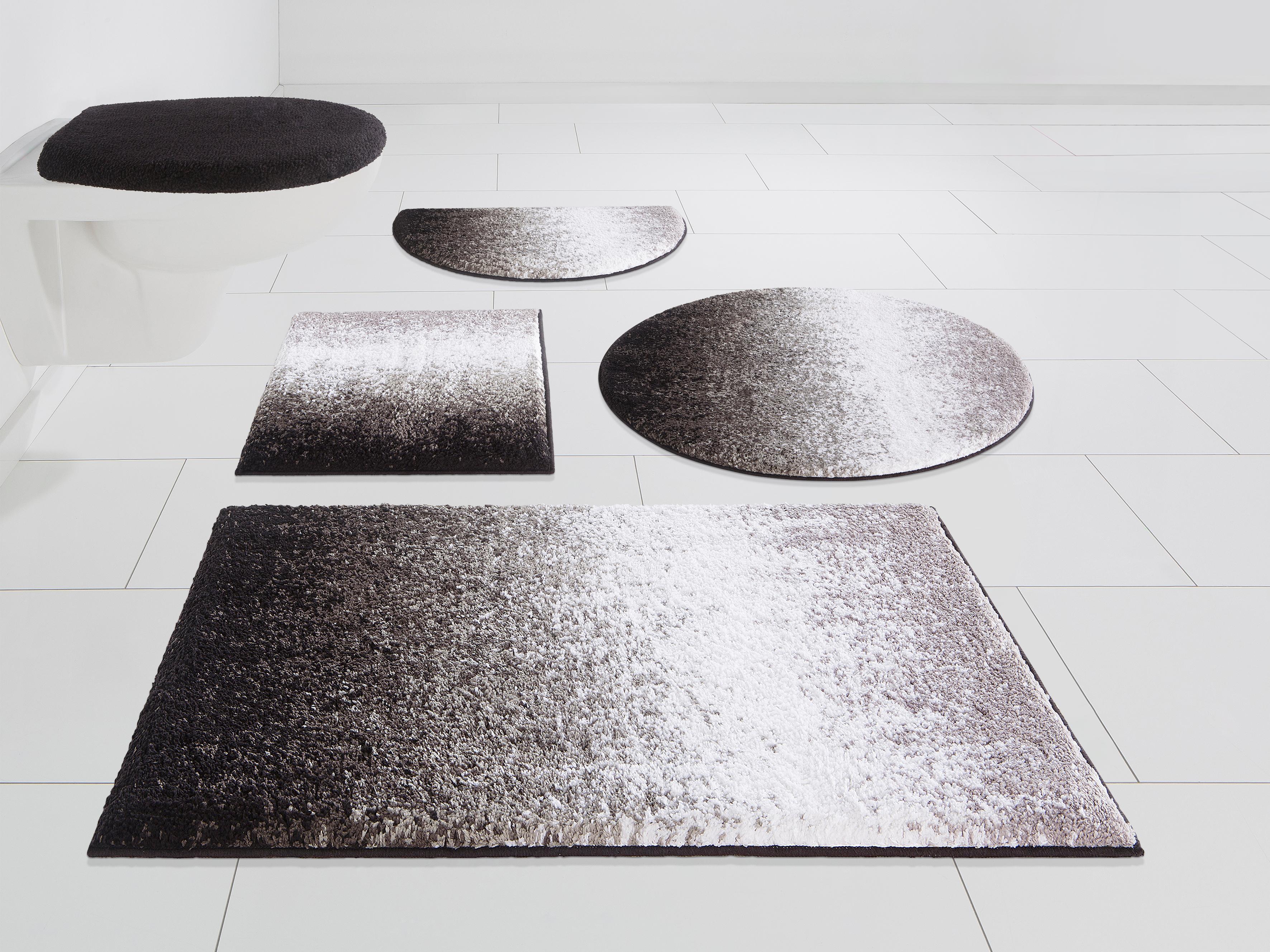 Badezimmerteppich Rund Grau Conceptform Gmbh