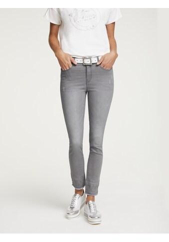 Jeans Aleria mit Used - Effekt kaufen