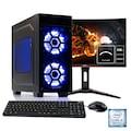 Hyrican Gaming PC i5-9400F, RTX 2060 + 60 cm (24'') TFT »Striker SET1904«