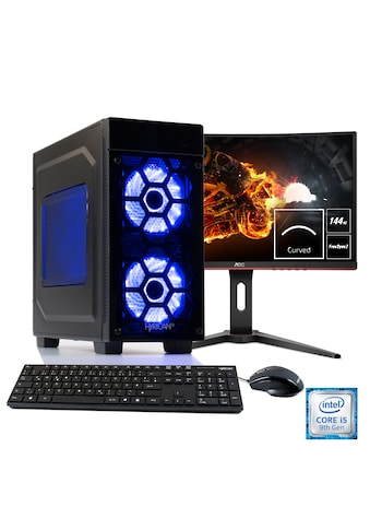 Hyrican Gaming PC i5 - 9400F, RTX 2060 + 60 cm (24'') TFT »Striker SET1904« kaufen