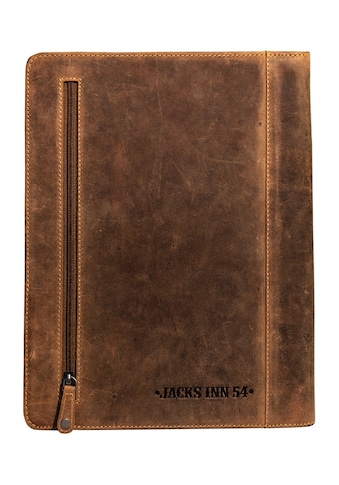 JACK'S INN 54 Dokumententasche »PUCKER UP«, aus Leder mit Prägung und Vintage Look kaufen
