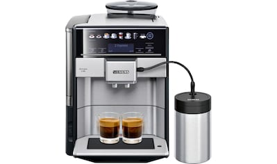 SIEMENS Kaffeevollautomat »EQ.6 plus s700 TE657M03DE«, inkl .isolierter Milchbehälter... kaufen