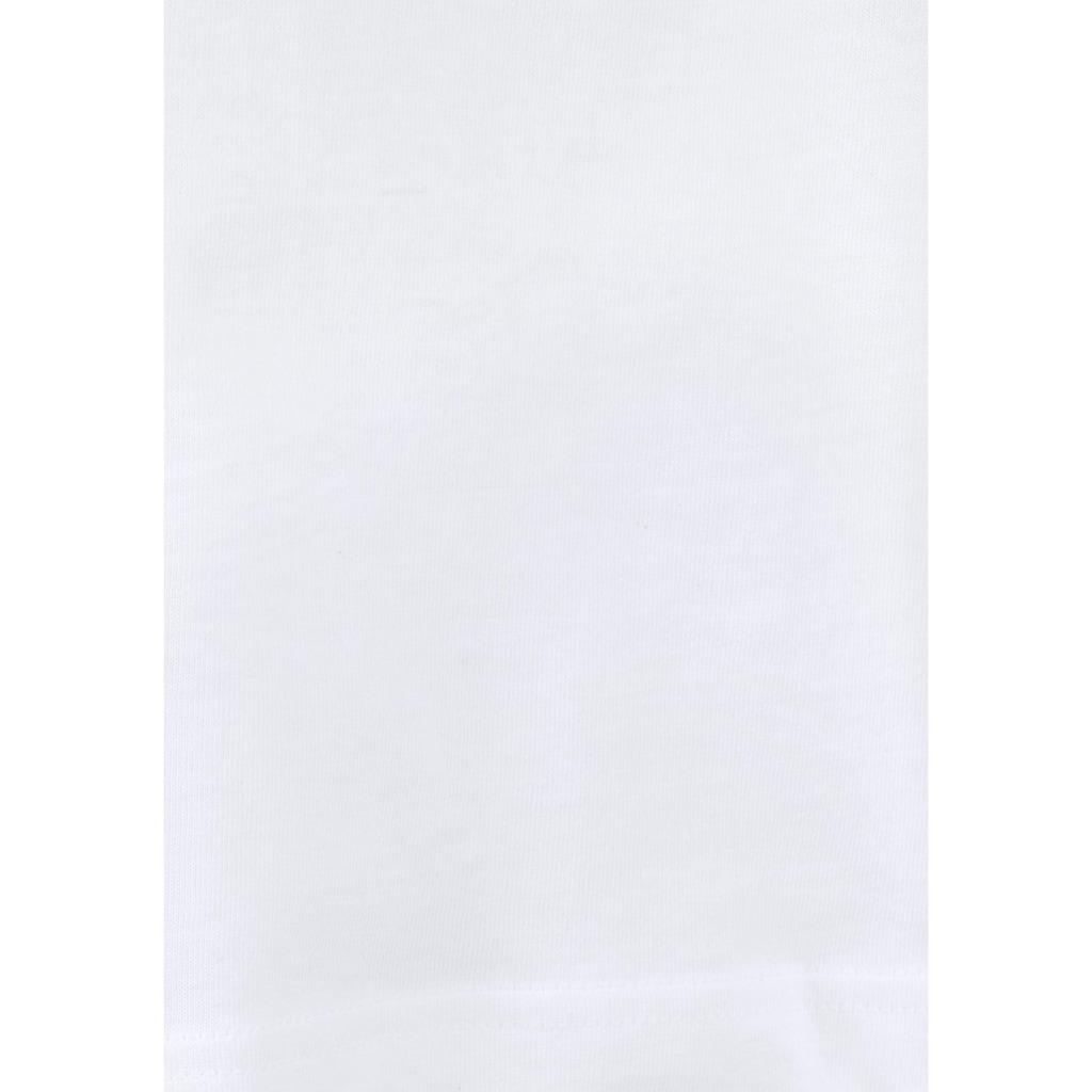 Schiesser Unterziehshirt, (Packung, 2 St., 2er-Pack), im schlichten Design