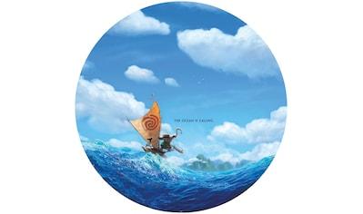 Komar Fototapete »Moana Ocean is calling«, bedruckt-Comic-Retro-mehrfarbig, BxH:... kaufen