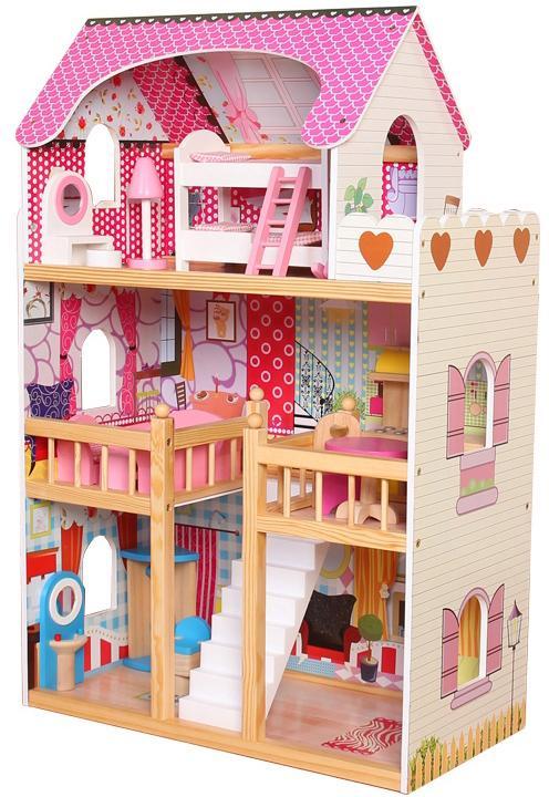 """CHIC2000 Puppenhaus """"Mia"""" Kindermode/Spielzeug/Puppen/Puppenhaus"""