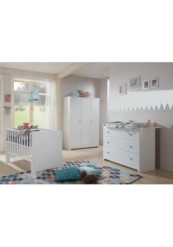 arthur berndt Babyzimmer-Komplettset »Thilo«, (Set, 3 St.), Made in Germany; mit... kaufen