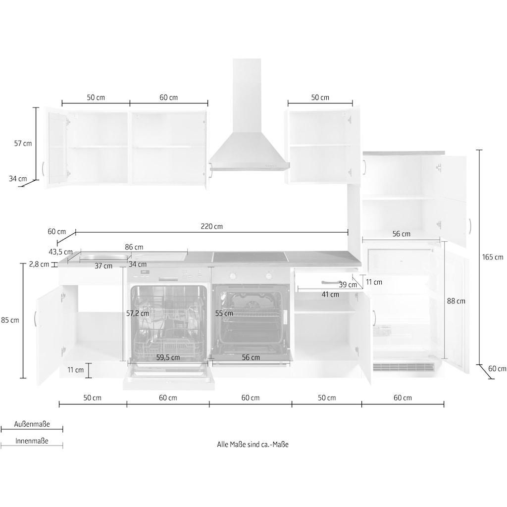 HELD MÖBEL Küchenzeile »Athen«