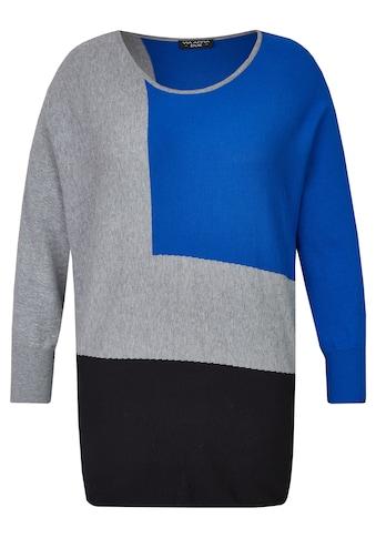 VIA APPIA DUE Trendiger Pullover mit Fledermausärmeln Plus Size kaufen