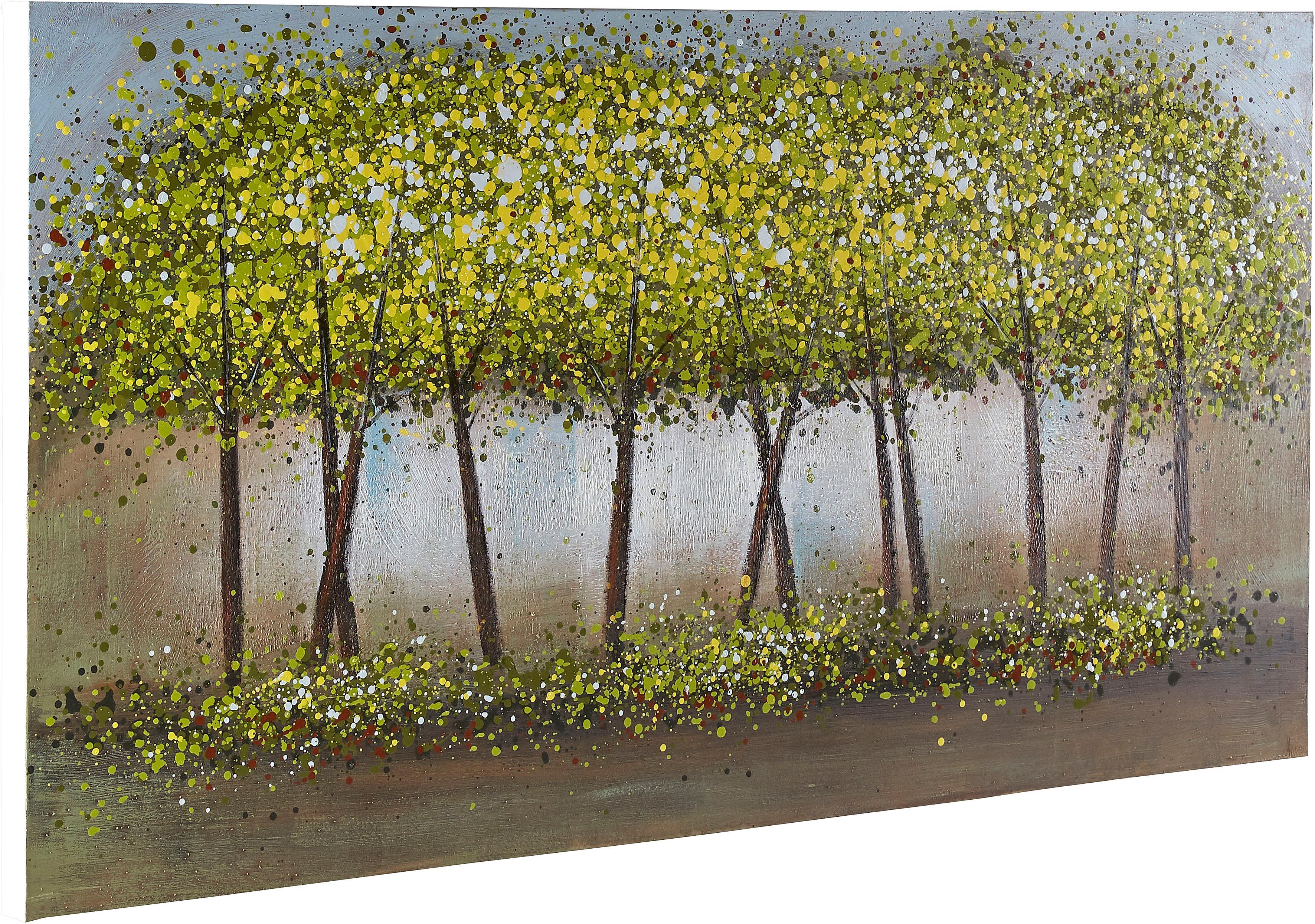Premium collection by Home affaire Gemälde Trees Wohnen/Accessoires & Leuchten/Wohnaccessoires/Bilder & Bilderrahmen/Gemälde