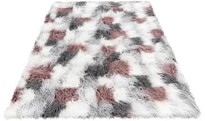 Obsession Hochflor-Teppich »My Boogie 931«, rechteckig, 75 mm Höhe, Kunstfell, Wohnzimmer kaufen