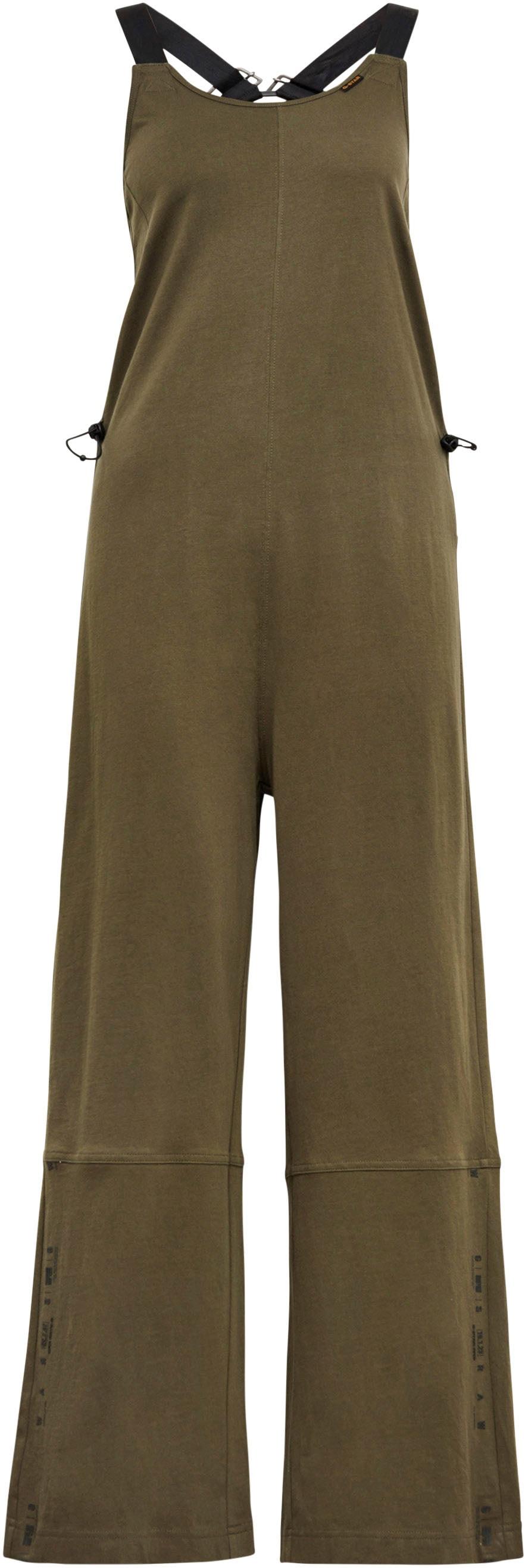 g-star raw -  Jumpsuit Dungaree Jumpsuit, in der Taille elastische Kordel mit Stoppern
