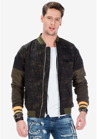 Cipo & Baxx Collegejacke, in coolem Military-Style kaufen