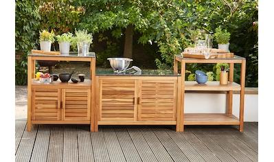 Siena Garden Outdoor-Küche »Riva«, (Set, 3 St.) kaufen