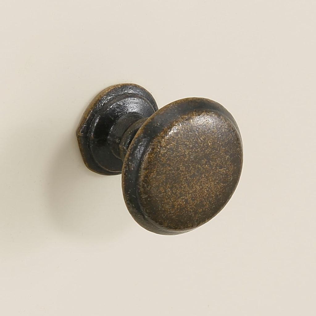 Premium collection by Home affaire Drehtürenschrank »Arabeske«, aus teilmassivem Holz mit schönen Ornamenten auf den Türfronten