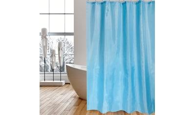 MSV Duschvorhang »Blau«, 120 x 200 cm kaufen