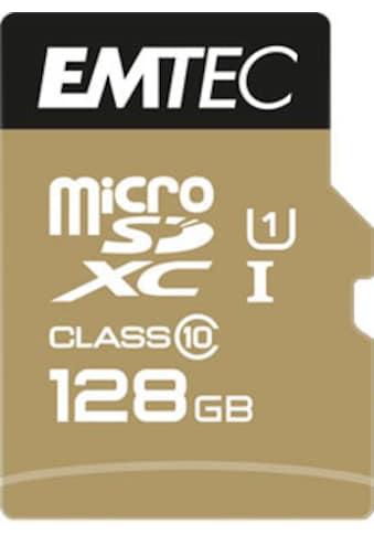 EMTEC Speicherkarte »microSD UHS-I U1 EliteGold«, ( Class 10 85 MB/s Lesegeschwindigkeit) kaufen