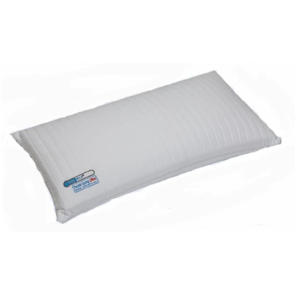 MPS TEXTILES Nackenstützkissen »Pocket Spring Kissen Ultra«, (1 St.), Punktuelle und flächendeckende Elastizität