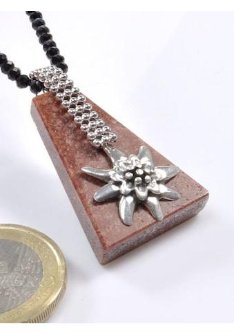 Adelia´s Kettenanhänger »Sandstein Anhänger 925 Silber« kaufen