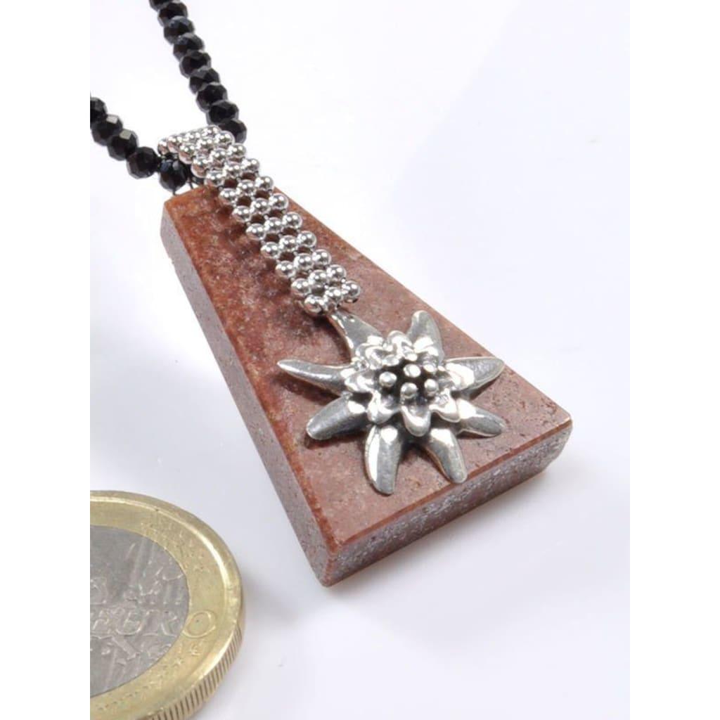 Adelia´s Kettenanhänger »Sandstein Anhänger 925 Silber«