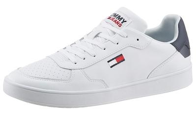 Tommy Jeans Sneaker »TOMMY JEANS ESSENTIAL CUPSOLE«, mit Logoschriftzug auf der Zunge kaufen