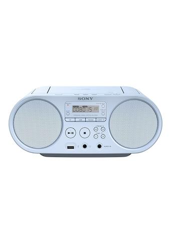 Sony Boombox »ZS-PS50«, (AM-Tuner-FM-Tuner 4 W), CD-Laufwerk, Front-USB, MP-3 kaufen