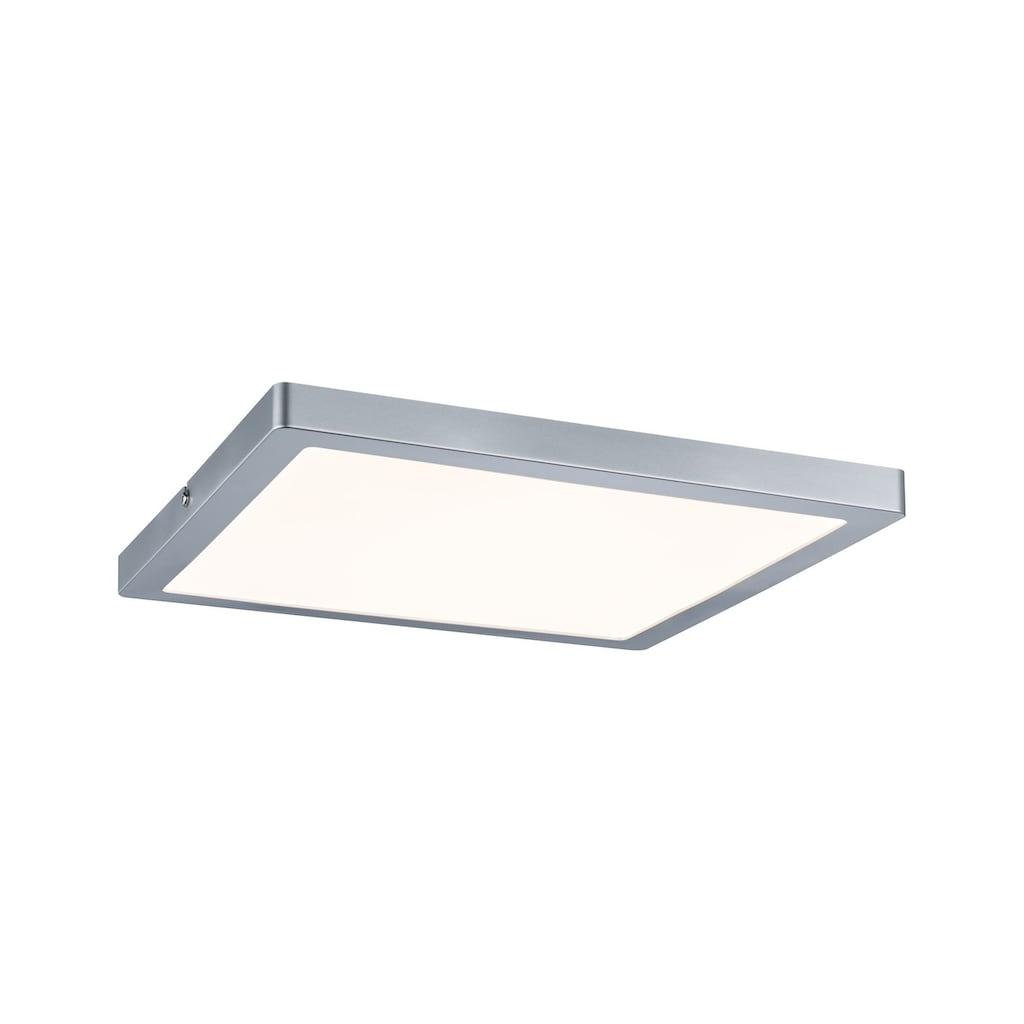 Paulmann LED Panel »Atria dimmbar eckig 24W Chrom matt«, 1 St., Warmweiß