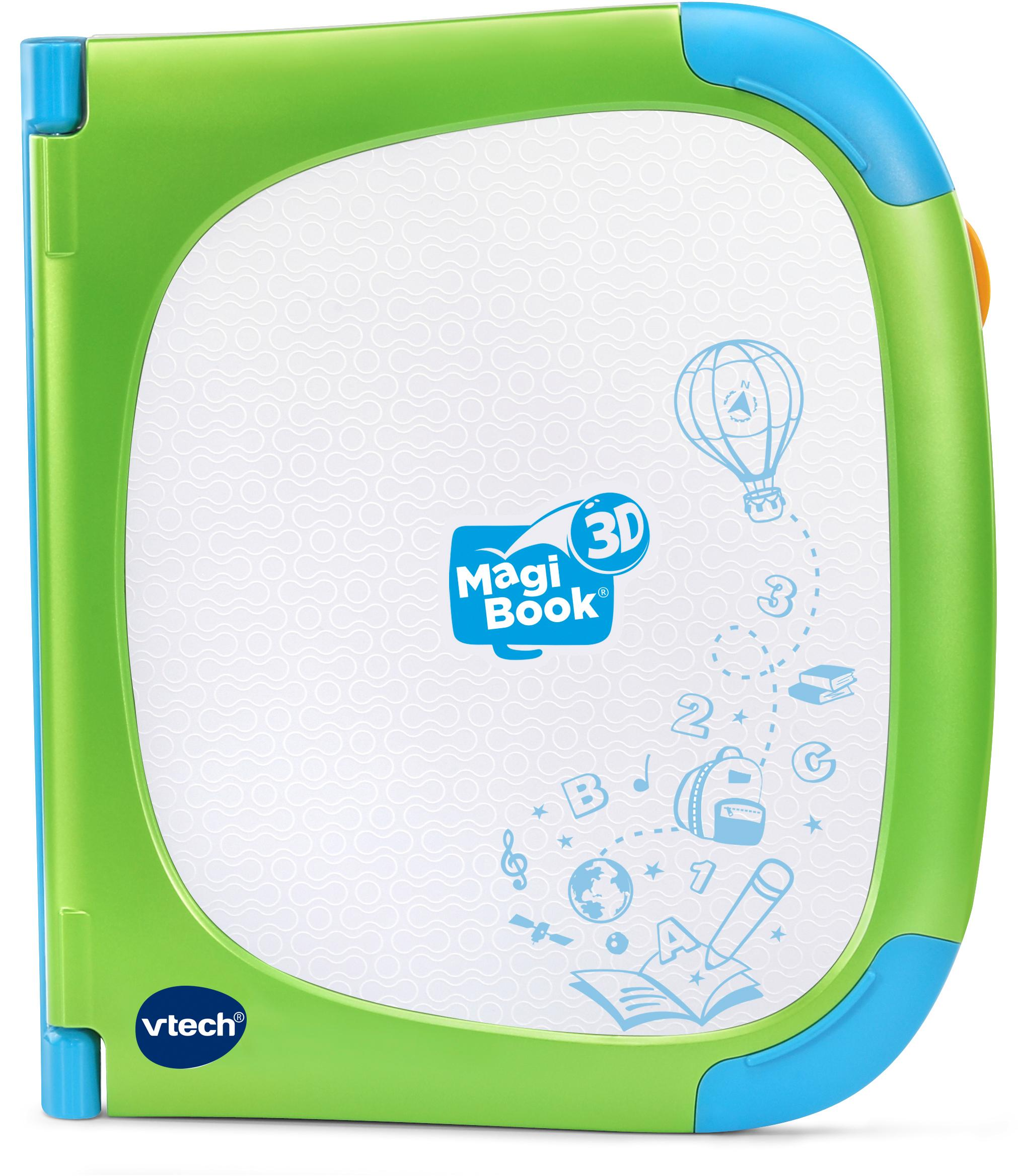 Vtech Kindercomputer MagiBook 3D, grün Kinder Kinder-Computer Lernspielzeug