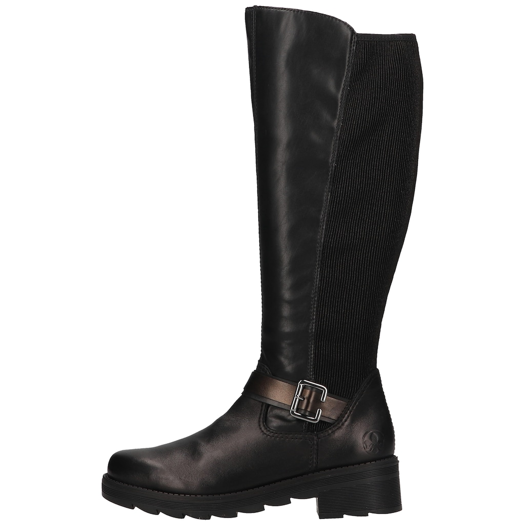 Rieker Stiefel »Lederimitat«